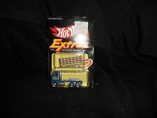 Hot Wheels 1981 Extras Ford Stake Truck Moving Part  With Sticker Sealed on Card