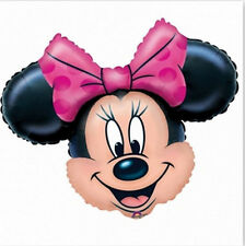 "Disney Minnie Mouse Super Shape 23""x 28"" Jumbo Foil Balloon Birthday Supplies"