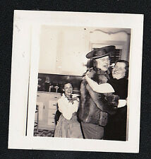 Vintage Antique Photograph Man Dressed As Woman Dancing With Another Woman