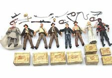 "8pcs INDIANA JONES Raiders of the Lost Ark 3.75"" Action Figures Movie Toy"