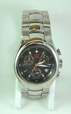 Men's ESQ Chronograph Stainless Steel Black Dial ES.03.1.14.5485 SWISS