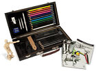 BEGINNERS BOX SET SKETCHING PAD & DRAWING PENCILS MANNIKIN & GUIDE BOOK DS3000