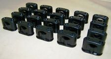 10 Antique Bakélite Serre-Câble avec vis Taille S, AP Interrupteur Prise câble