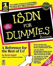 Isdn for Dummies by David Angell (1996, Paperback)