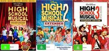 High School Musical TRILOGY 1 2 3 : DVD - NEW+SEALED