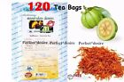 120 TEA BAGS GARCINIA CAMBOGIA WITH SAFFLOWER WEIGHT LOSS SLIMMING DIET DETOX.