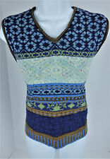 Small Oilily Italian Wool Blend Sweater Vest Womens S