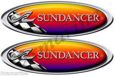 Sea Ray Sundancer Racing Decal. Remastered name plate