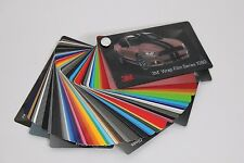 3M Sample Swatch Booklet 1080 Car Architectural Vinyl Wrap Film Color Texture