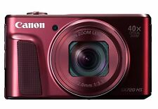 Canon PowerShot SX720 HS (RED) with Wifi Technology & 40x Optical Zoom (SMP3)