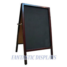 A-Frame Chalkboard Double Sided Sidewalk Restaurant Pavement Menu Board