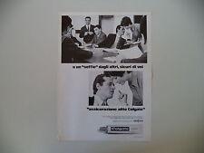 advertising Pubblicità 1969 DENTIFRICIO COLGATE