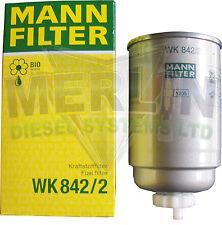NEW GENUINE MANN FUEL FILTER WK842/2