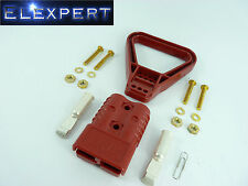 ANDERSON PLUG WITH HANDLE - 175 AMP - BATTERY CONNECTOR - JUMP START - X1 - RED
