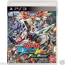 Used PS3 Mobile Suit Gundam EXTREME VS. FULL BOOST