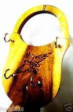 WOODEN HANDCRAFTED - WALL KEY HANGER - SHOWPIECE - HOME DECOR -GIFT ITEMS