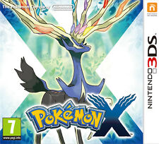 POKEMON X NINTENDO 3DS VIDEO GAME BRAND NEW SEALED OFFICIAL PAL