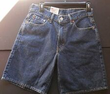 "30"" MENS LEVIS 550 RELAXED FIT JEAN SHORTS DARK BLUE WASH  NWT New With Tags!"