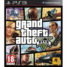 * Grand Theft Auto 5 V GTA 5 GTA V PS3 Game [PREOWNED]