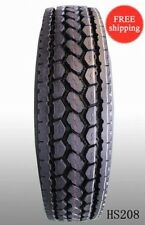 (1-Tire) 11R24.5 H/16PR 149/146L-  New Rear Deep Drive Truck Tire 11245 (HS208)