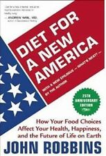 John Robbins - Diet For A New America 25th An (2012) - New - Trade Paper (P