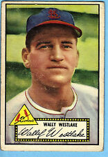 1952 Topps #38 Wally Westlake RB St. Louis Cardinals VG