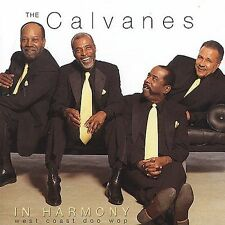 CALVANES - In Harmony - West Coast Doo Wop-New-Clean CD-Free Shipping in the US!