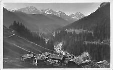 B74642 Chur arosa bahn viadukt bei langwies switzerland