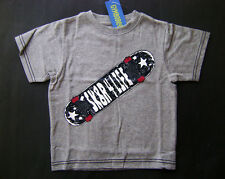 GYMBOREE Skate Legend Gray Cotton Sk8r 4 Life Tee T-shirt Boys 3 NEW