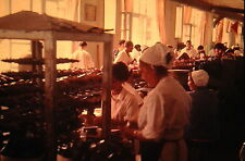 35mm Vintage Slide Azerbaijan SSR USSR Men Women Working Inside Factory 1970!!!