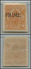 FIUME - 1918/1919 - 2 Filler francobollo per Giornali (1) - MH