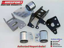 Hasport Mounts 92-96 Prelude Engine Mount Kit w/ K24 Accord/TSX Transmision 62A