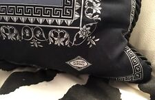 VERSACE PILLOW GREEK KEY THROW  NEW in BAG ITALY SALE AUTHENTIC