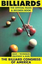 Billiards: The Official Rules and Records Book