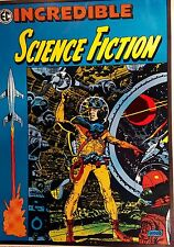 INCREDIBLE SCIENCE FICTION 33 EC Comics Poster NEAR MINT '71 WALLY WOOD No Folds