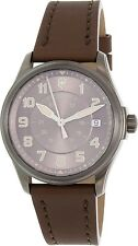Victorinox Swiss Army Men's Infantry 241519 Brown Leather Swiss Automatic Watch