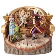 Disney Traditions Daring Duel (Carved by Heart Peter Pan Figurine) 4048653 NEW
