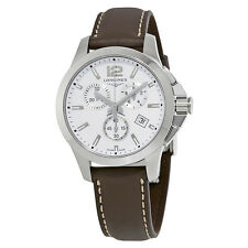 Longines Conquest Chronograph White Dial Mens Watch L33794165