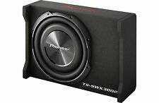 "NEW Pioneer TS-SWX3002 1500 W Max 12"" Shallow Mount Sealed Enclosed Subwoofer"