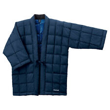 Mont-bell Quality Japanese Down Jacket Traditional Hanten Size S, M, L Dark Navy
