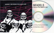 INFADELS The Future Of The Gravity Boy UK 10-track promo test CD + press release