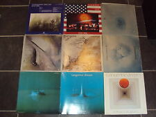 TANGERINE DREAM LP SAMMLUNG RUBYCON PHAEDRA CYCLONE LIVE ENCORE FORCE MAJEURE