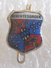 Vintage Berchtesgaden, Bavaria Germany Travel Souvenir Collector Pin Shield