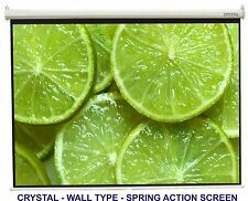 7x5 ,High-Gain, WALL TYPE CRYSTAL  BRAND  PROJECTOR SCREEN
