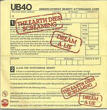 UB40 The earth dies screaming FRENCH SINGLE GRADUATE 1980