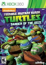 Xbox 360 Teenage Mutant Ninja Turtles: Danger Of The Ooze Video Game tmnt fight