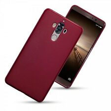 Huawei Mate 9 caso, Genuino Tech 2 choque cubierta de gel TPU Rock Proof Flex Rojo Mate