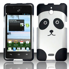For Huawei H881C ACE Rubberized HARD Case Phone Cover Panda