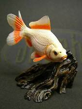 Yujin goldfish aquarium fish in colour ver 1 #4 Carassius auratus Jikin( frog insect )
