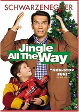 Jingle All the Way  DVD Arnold Schwarzenegger, Sinbad, Phil Hartman, Rita Wilson